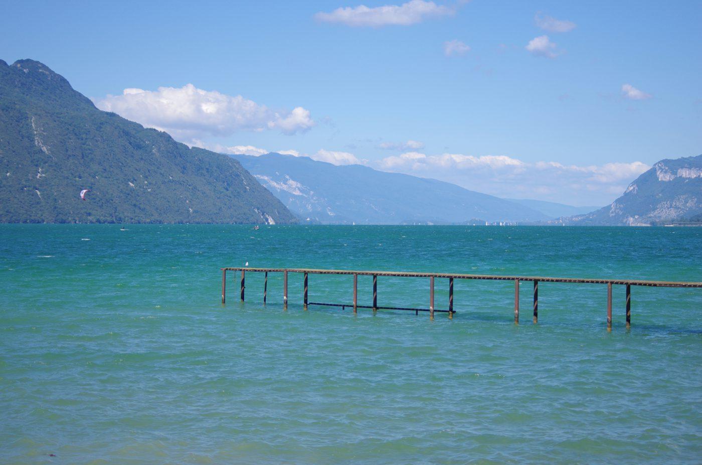 Week end amoureux au lac du Bourget